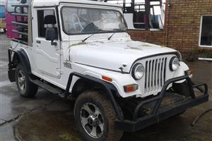 Mahindra Thar 2010 2.5lt turbo Diesel Stripping for spares