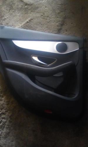 Merc W 205 Left Rear Door Panel