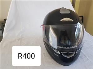 Black takachi helmet for sale