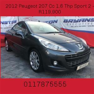 2012 Peugeot 207 CC 1.6 Sport 2