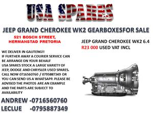 JEEP GRAND CHEROKEE WK2 6.4 GEARBOX FOR SALE
