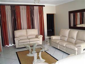 6 Seater Genuine Leather Lounge Suite
