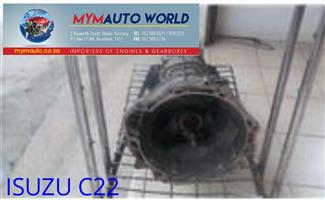 Imported used ISUZU C22 FLOOR gearboxes. Complete second hand used gearbox