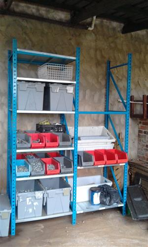 Shelving & racking for your tools in your garage