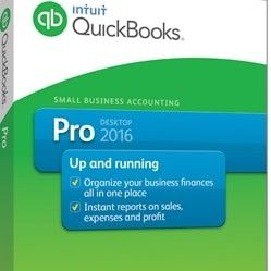 Quickbooks Desktop 2016 professional
