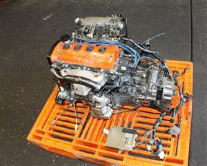 TOYOTA STARLET EP91 1.3L TURBO ENGINE 5-SPD TRANS  4E-FTE 4E