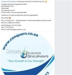 Business Achievers Promotion