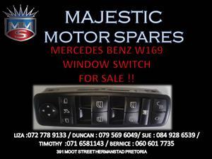 MERCEDES BENZ W169 WINDOW SWITCH FOR SALE !!