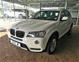 2012 BMW X3 xDrive20d Exclusive