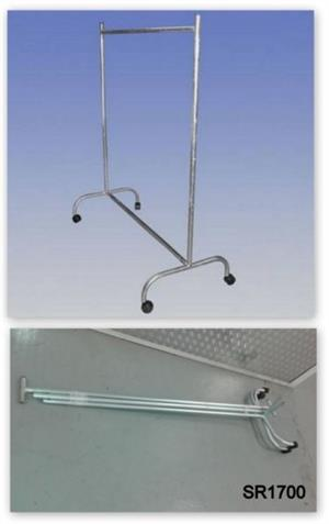 Clothing Rails For Sale - galvanized strong & durable