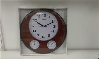 SAKYNO CHOCOLATE WALL CLOCK