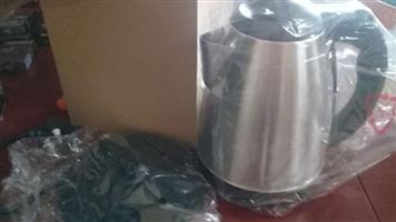 1.8lt silver kettles