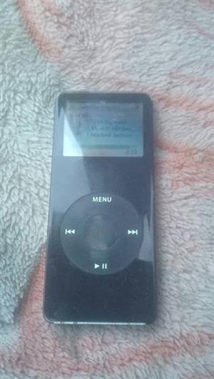 Apple ipod black 1gig