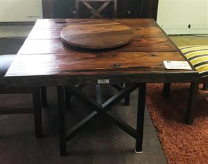 Sleeper Wood Table
