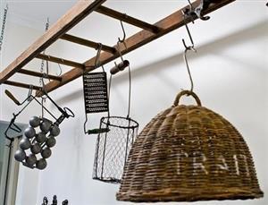 Rustic  suspended Pot holder