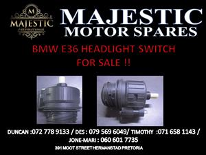 BMW E36 HEADLIGHT SWITCH