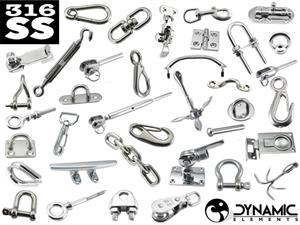 316SS Stainless Steel Boat Fittings