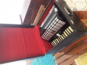 Parrot accordian excellent condition