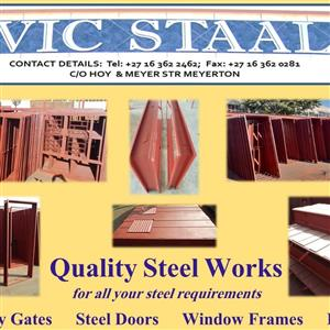 Vic Staal windows and door frames