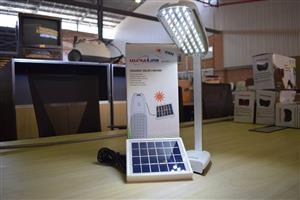 Ultra link foldable solar lantern