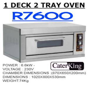 ONE DECK 23 TRAY BAKING OVEN