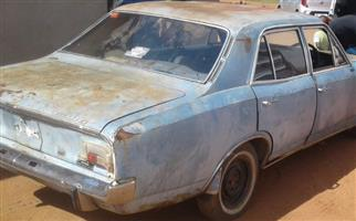 1967 Opel Rekord For restoration
