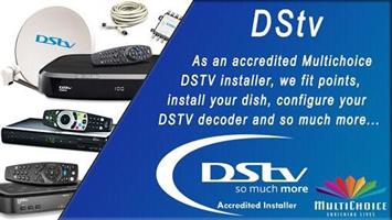 Accredited dstv installer around  Pretoria east 0769231507