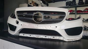 Mercedes Benz W205 Complete Bumper and Grill