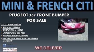 PEUGEOT 207 FRONT BUMPER FOR SALE