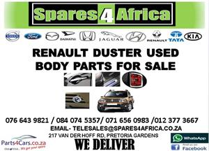RENAULT DUSTER USED BODY PARTS FOR SALE