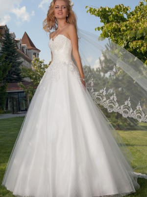 Wedding Gown -Anabel  by Oksana Mukha designer at Bridal Allure