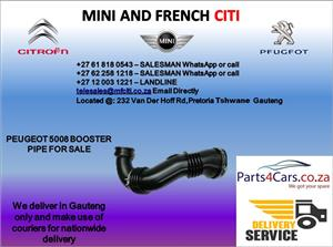 Peugeot 5008 booster pipe for sale
