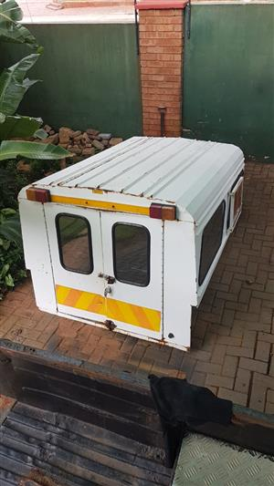Bumper and canopy combo for sale from Hilux bakkie