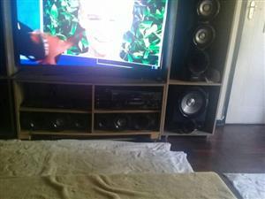 big tv and seround sound for sale