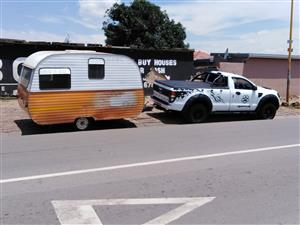Take away caravan for sale R9000