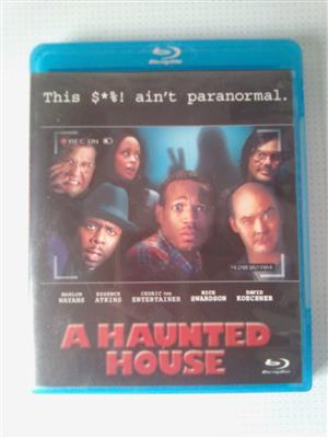 "Blu-ray DVD Movie ""A Haunted House"". As well as other Movies and Music Blu-ray DVD's R60 each. Please WhatsApp me for List of them. I am in Orange Grove."