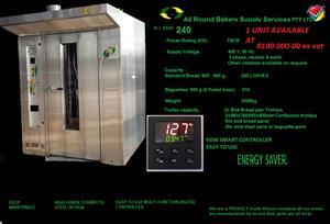 BREAD OVEN ROTARY RACK OVEN NEW NEW NEW AT SECOND HAND PRICE...