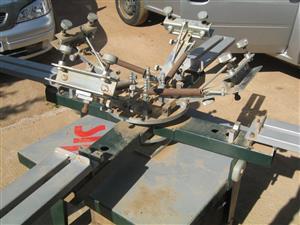 4 Colour Silk Screen Printing  Machine