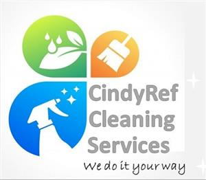 CindyRef Cleaning Services- Call today for a free Quote 065 817 3049