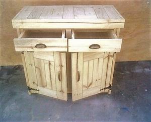 Kitchen Cupboard Base unit Farmhouse series 1000 - Raw