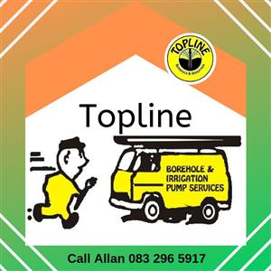Topline borehole and irrigation pump services