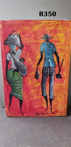Man and Woman Painting (460x660)