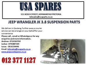 JEEP WRANGLER JK 3.8 SUSPENSION PARTS FOR SALE