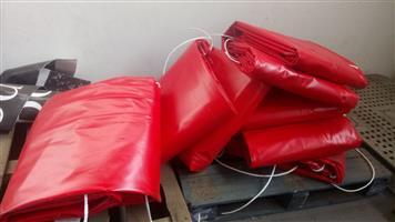 7m x 7m tarpaulins for sale