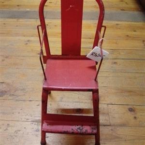 Vintage toy feeding chair