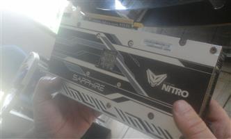 SAPHIRE NITRO RX470 8 GIG GRAHICS CARD