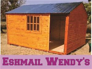 All sizes of wendy houses