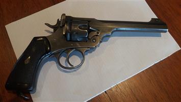 Webley 455 Revolver - Collectible condition