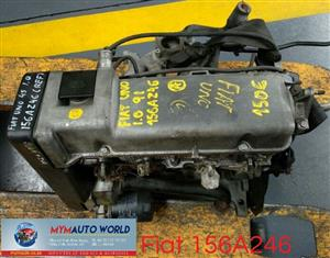 Imported used  FIAT UNO-II 1.0L,156A246,Complete second hand used engines