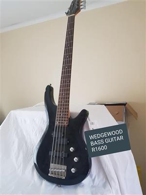 Wedgewood bass guitar